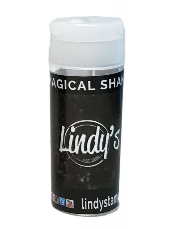 Lindy's Stamp Gang Black Forest Black Magical Shaker
