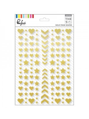 Pinkfresh Studio - The Mix No. 1- Gold foam shapes