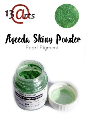 Shiny Powder -Shimmer green
