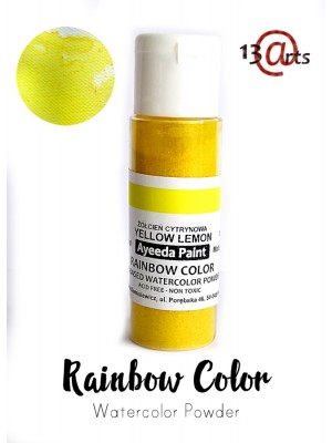 Rainbow Color Yellow Lemon  -13Arts