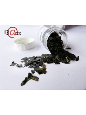 Natural mica flakes Black