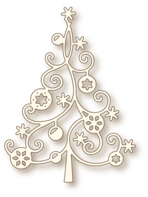 Wild Rose Studio's Specialty die - Christmas Tree