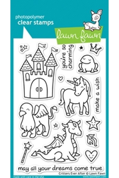 Critters ever after - Lawn Fawn