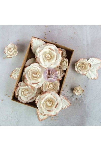 Box Flowers - Rose Gold Kiss