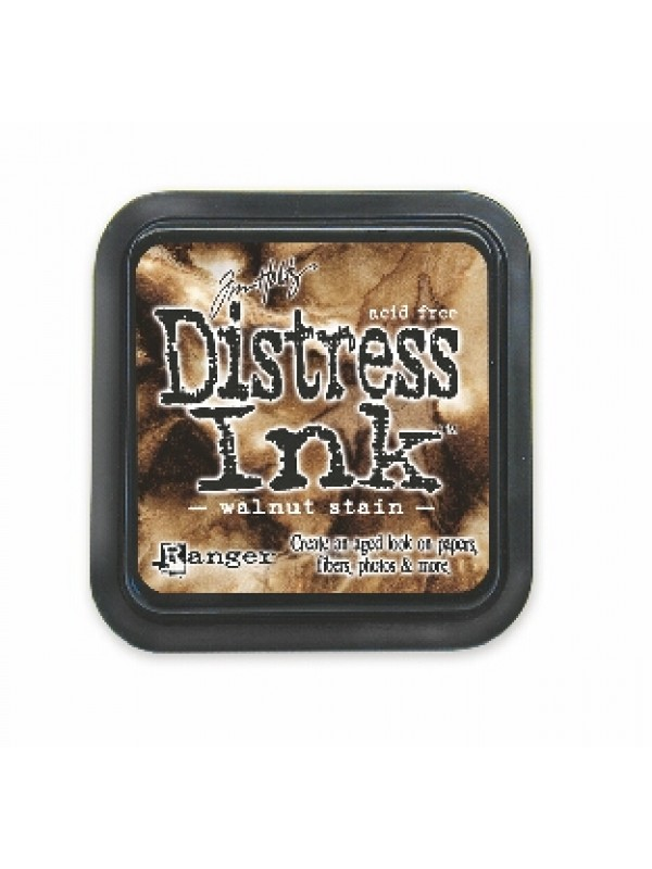 Distress ink pad -Walnut Stain