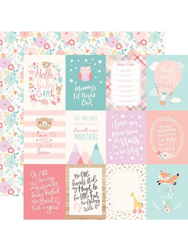 Echo Park Hello Baby Girl 12x12 Inch Collection Kit