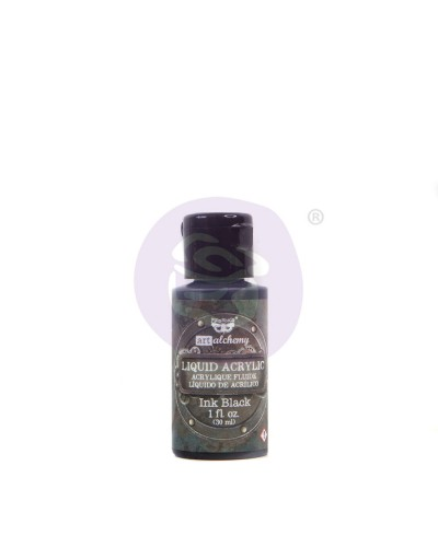 Prima Marketing Art Alchemy Liquid Acrylic Paint Black