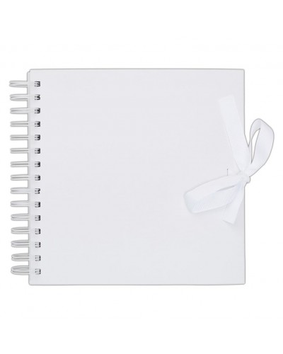 Papermania 8 x8 Inch Scrapbook Album White