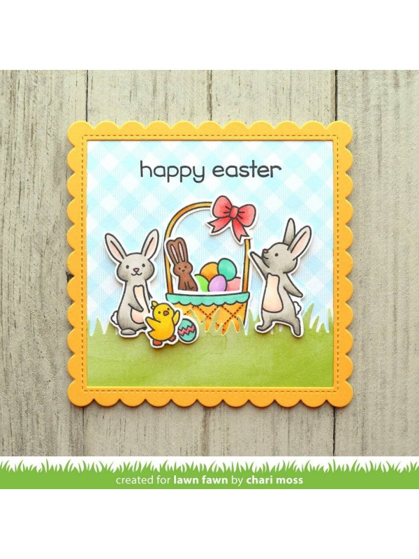 Διάφανες σφραγίδες Lawn Fawn Eggstra Amazing Easter Clear Stamps