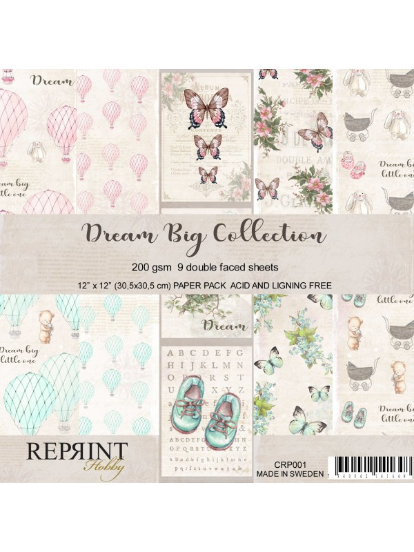 Reprint Dream Big 12x12 Inch Collection Pack