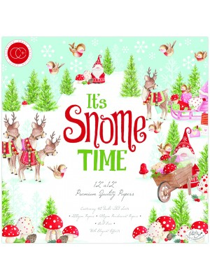 Mπλοκ χαρτιών Craft Consortium It's Snome Time 12x12 Inch Paper Pad