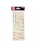 Anita's Glitterations Numbers Gold