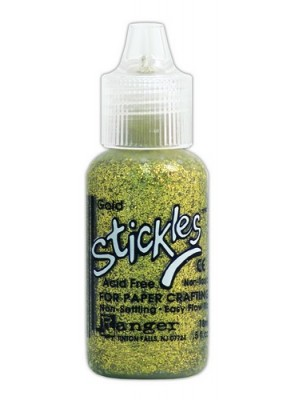 Ranger Stickles Glitter Glue 15ml - gold