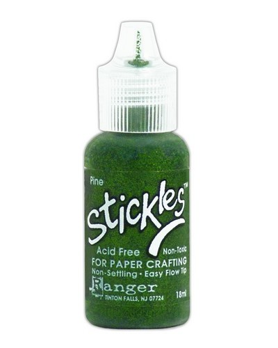 Ranger Stickles Glitter Glue 15ml - pine