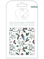 Holly Decoupage Papers