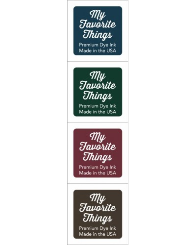 My Favorite Things Premium Dye Ink Cubes - Set 7