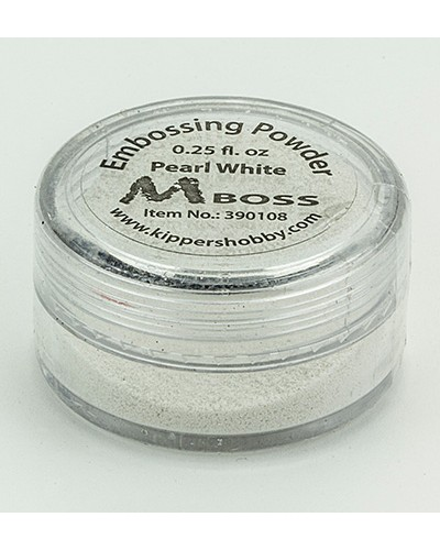 Embossing powder - Pearl White