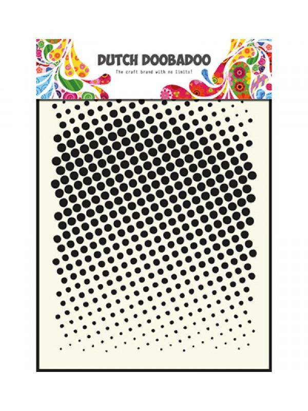Dutch Mask Art - Faded Dots
