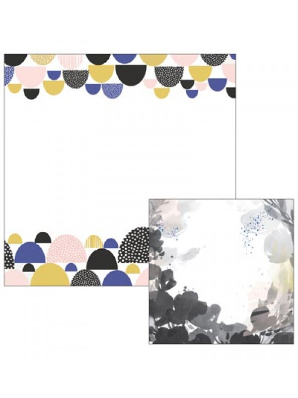 Pinkfresh Studio - Indigo Hills Paper double sided papers-Knoll