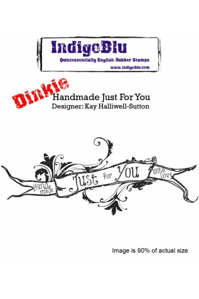 IndigoBlu Handmade Just For You A7 Rubber Stamps
