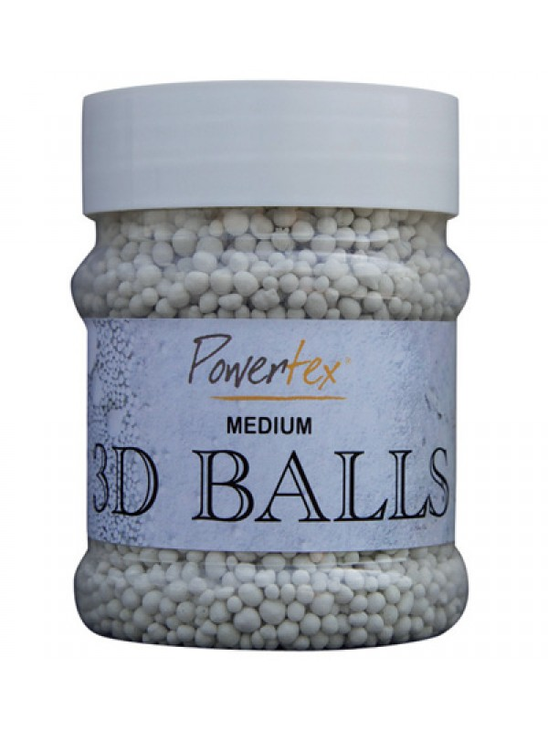 3D Balls Medium-Powertex
