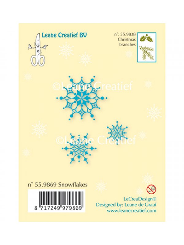 Snowflakes Clear stamp