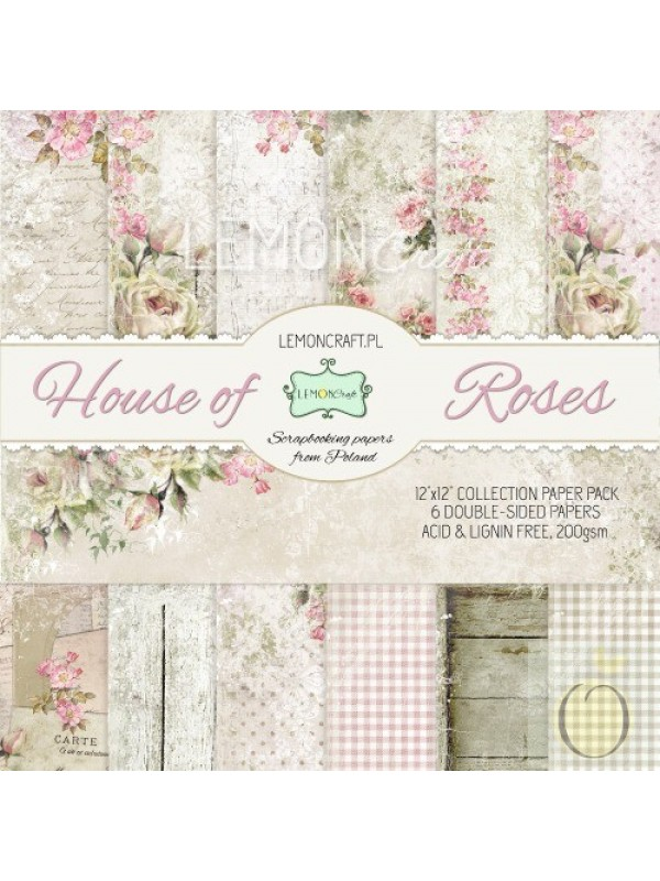 House of Roses- 6x6 paper pad