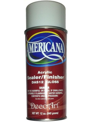 Americana Gloss Spray (Sealer και Gloss βερνίκι)