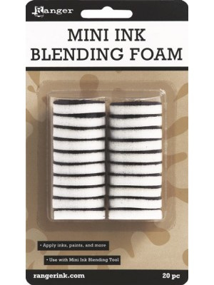 Ink Blending Tool Replacement Foams-Round