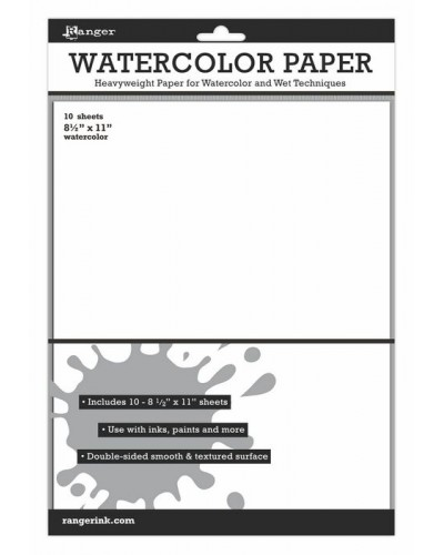 Watercolor Paper (8.5 x 11) 10 pack