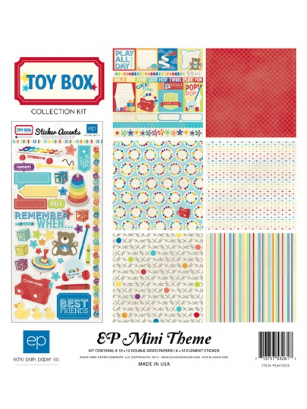Toy Box Collection Kit