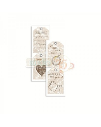 Tags - Lovely Moments   7x2 inch.