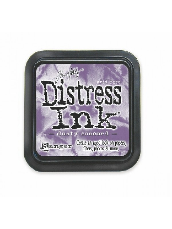 Distress ink pads -Dusty Concord
