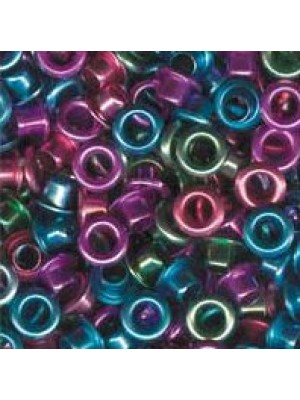 "Eyelets metallic 1/8"" pastel ass.25 pcs."